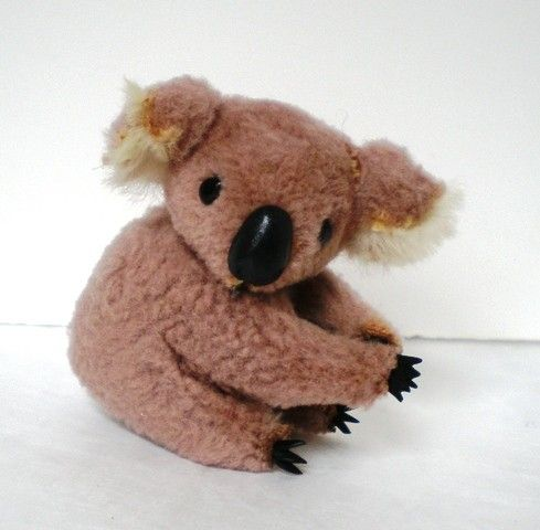 vintage plush clip - These were so popular back in the early 80's. I had several.