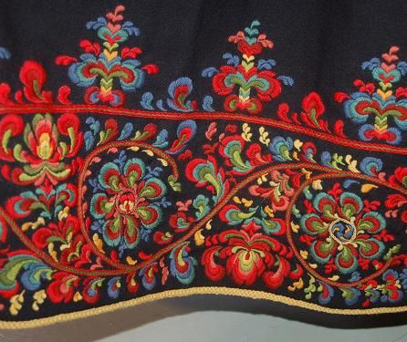 Hallingdal...beautiful embroidery