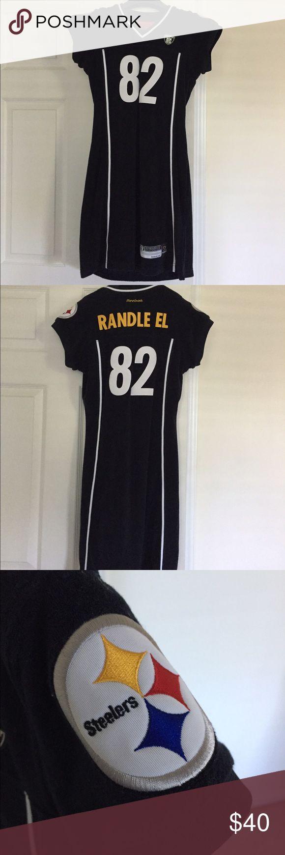 Pittsburgh Steelers jersey dress Official Reebok Antwaan Randle El jersey dress . Small Reebok Dresses
