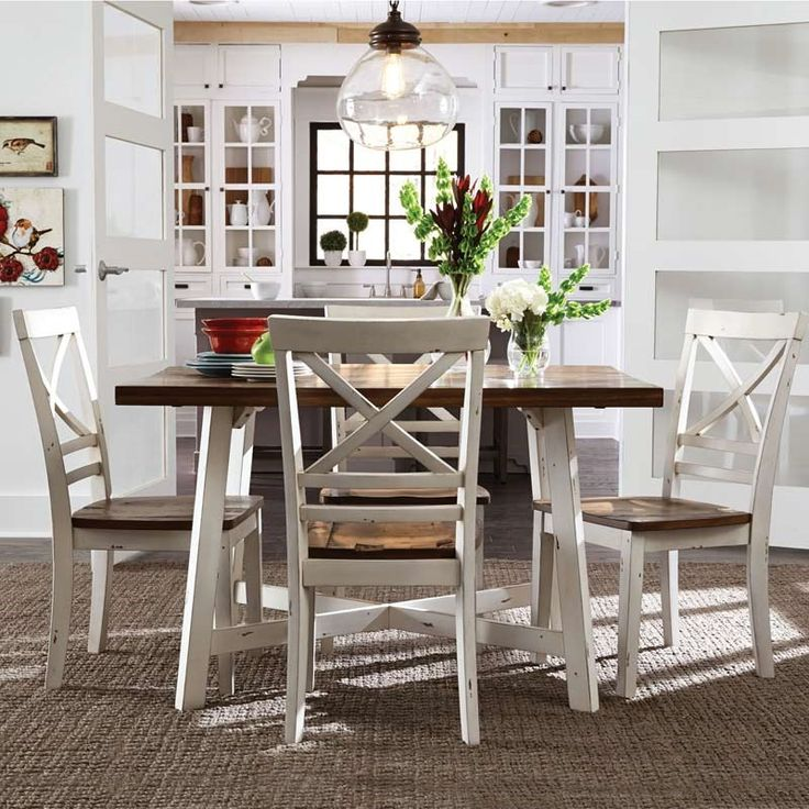 Ameila 5 Piece Dining Set Dining Room Sets White Dining