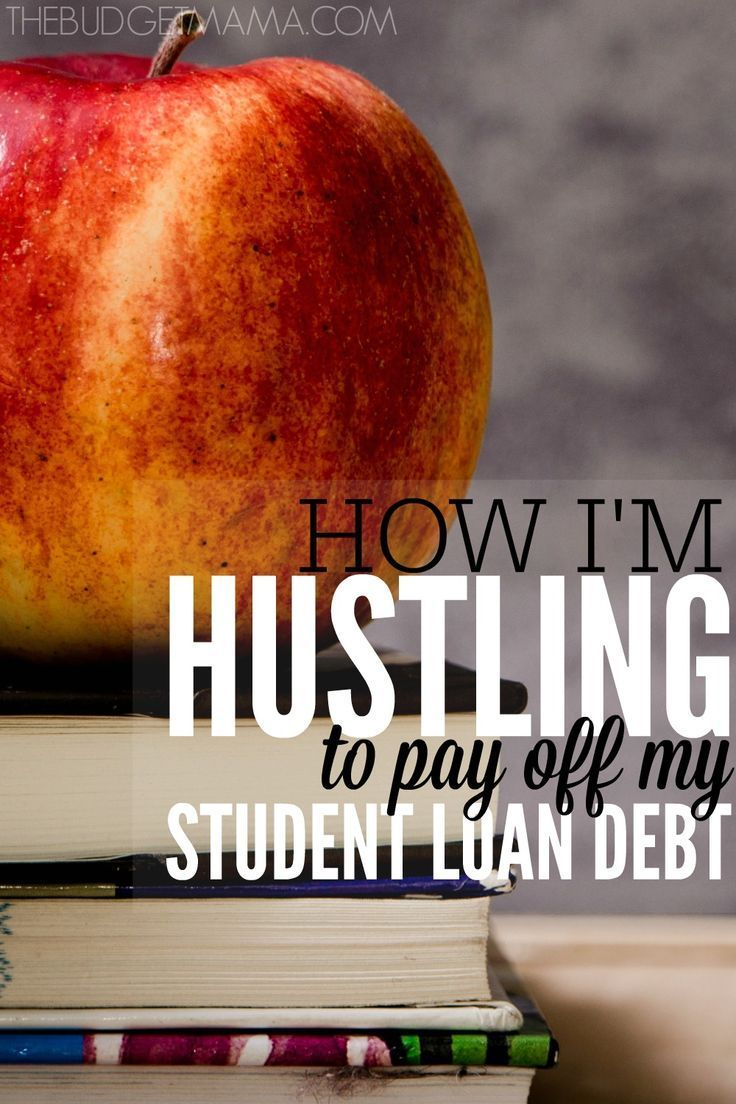 Hustling to pay off student loan debt