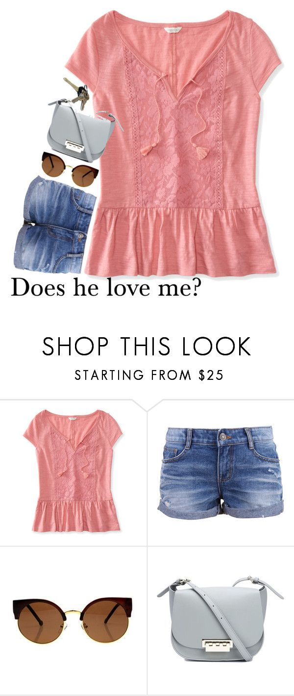 """""""I rode bareback for like 2 hours today"""" by preppy-horsegirl ❤ liked on Polyvore featuring Aéropostale, Avon and ZAC Zac Posen"""