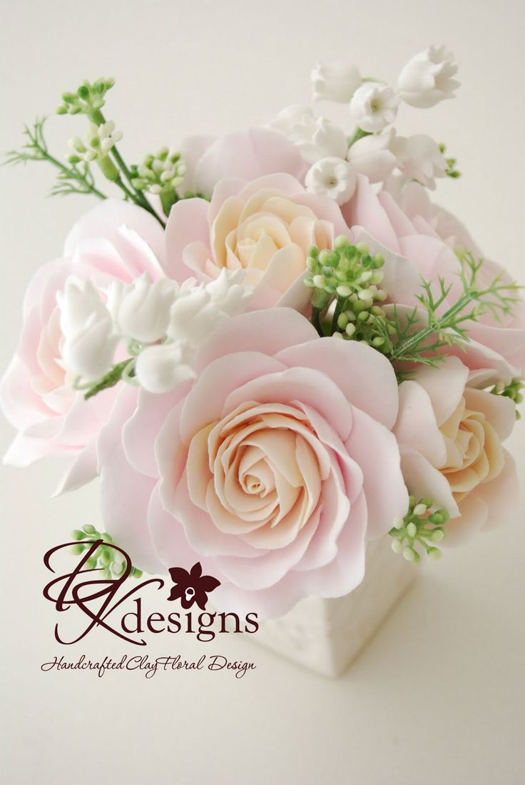 DK Designs: DK Designs and clay flowers and home decor