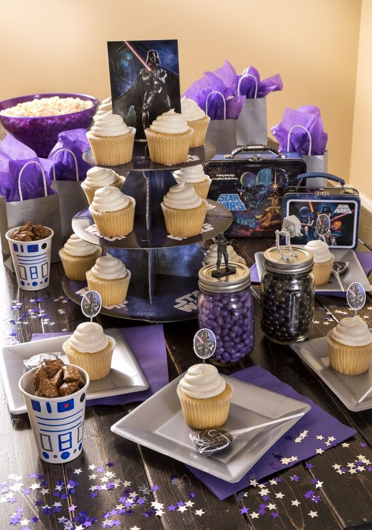 Star Wars: The Digital Movie Collection is out just in time for May 4th and is the perfect excuse for a Star Wars themed party!