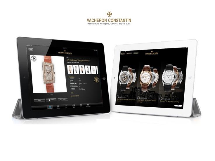 iPad pour Vacheron Constantin