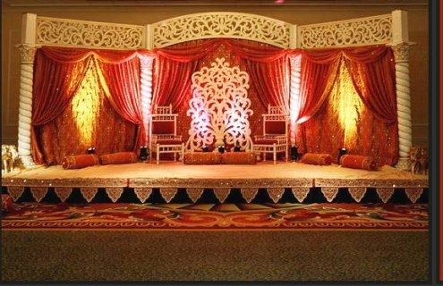 Indian Wedding Reception Stage Decoration Ideas 2015 | Latest Fashion Trends in India