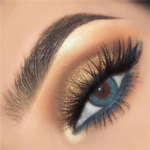 14 Shimmer Eye Makeup Ideas For Stunning Eyes Double The