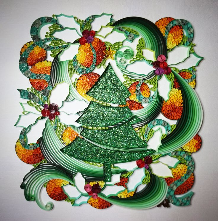 400 Best Quilling - Christmas Images On Pinterest