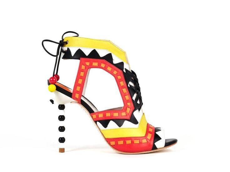 """""""RiRi"""" high heels by Sophia Webster, Spring/Summer 2013"""