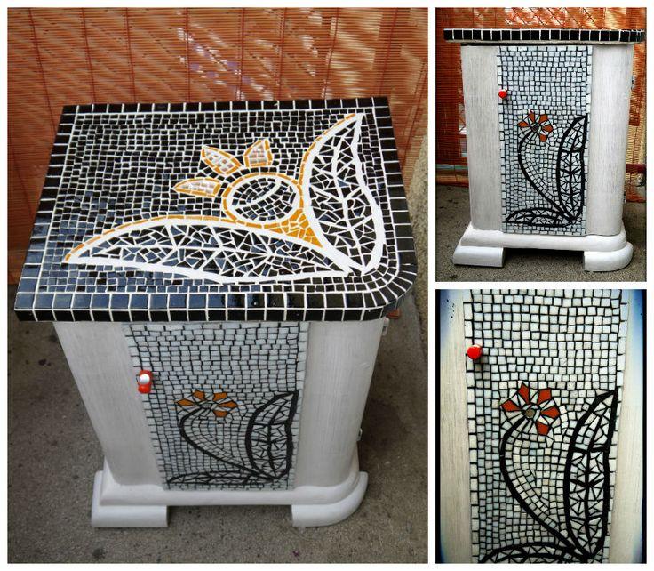 """""""Narancsvirág"""" art deco éjjeliszekrény / """"Orange blossom"""" art deco bedside table"""