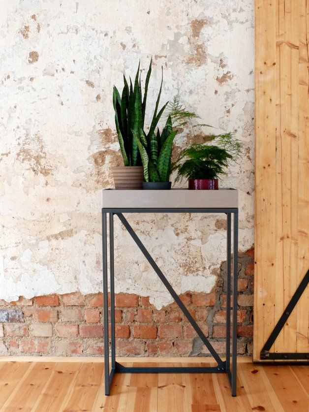 "**Your Design Plant Table _Made in Germany_**  The RoomGardens ""Plant Table"" is a stylish place to store your plants. It's a minimalistic and high-quality design plant table - a great piece for..."