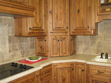 Corner Cabinet Design Traditional Kitchen Cabinets