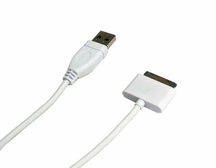iPhone 4S/4/3GS USB Data/Charging Cable White (MFI approved)...