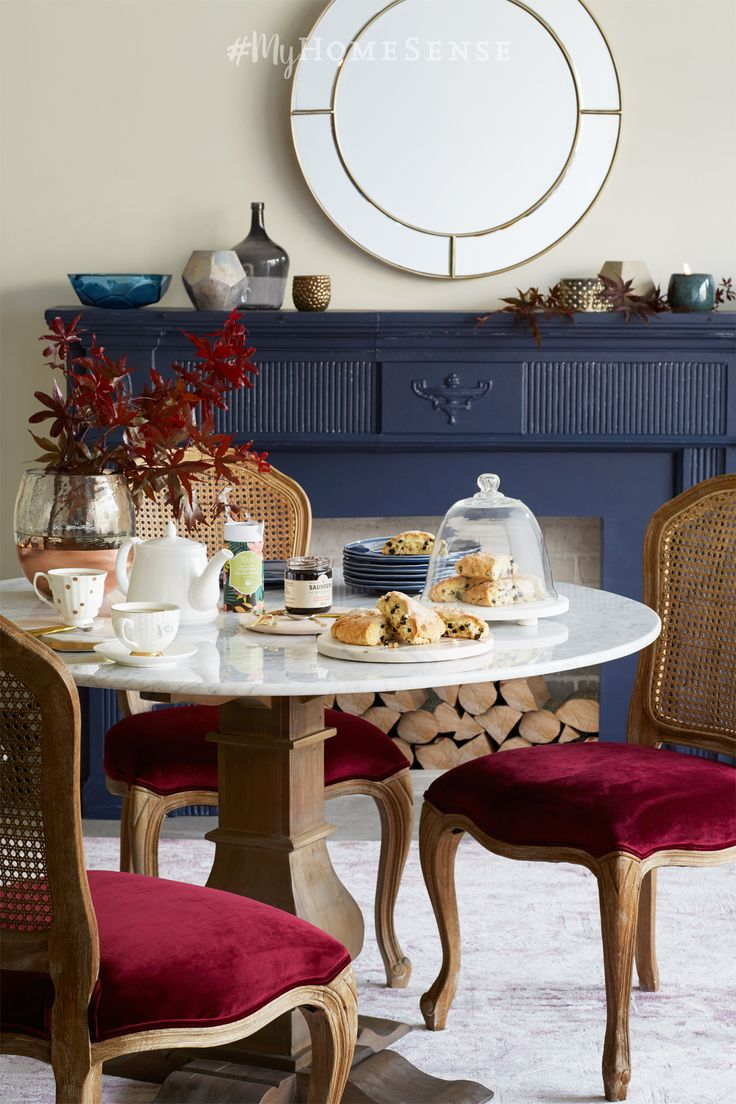 Fancy chairs fancy cardboard chairson home interior design ideas with - Pinkies Up Combine Luxe Textures And Rich Autumnal Shades Like These Myhomesense Red