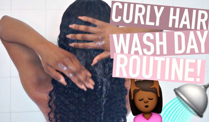 Curly Hair Wash Day Routine ft. Unice! [Video]