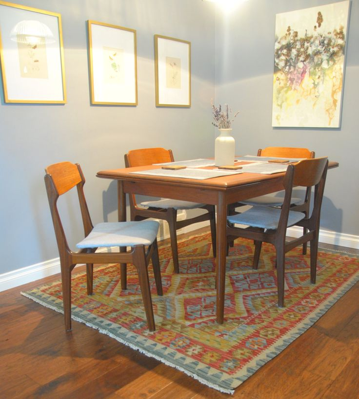 From Rug Weave Love This Dining Room