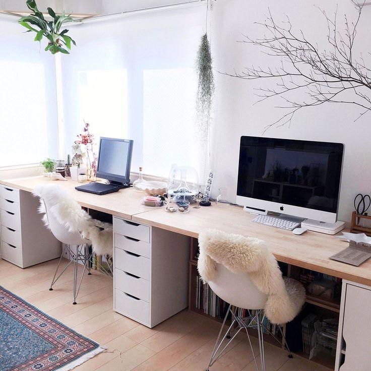 My Desk/IKEA/イームズ/Macのある部屋/Mac/ムートン...などのインテリア実例 - 2015-09-30 14:04:21
