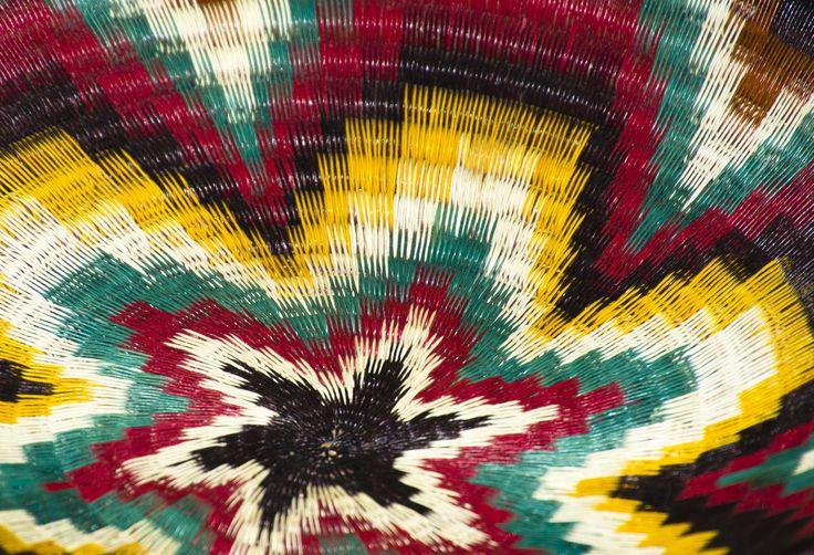 plato tejido a mano tipico en colombia