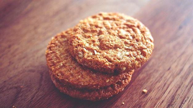 Ricetta: biscotti integrali per la colazione