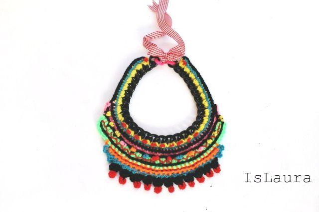 Collana tribale in versione invernale : islaura