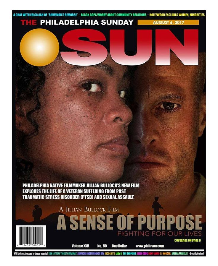 I am truly honored that the Philadelphia Sunday Sun newspaper felt my upcoming movie A Sense of Purpose: Fighting For Our Lives was worthy enough to earn the cover. As a writer, director, actor, and producer I have worked tirelessly on this project for the past few years in order to bring a movie to audiences that will be educational as well as entertaining. Thanks to all, cast, crew, sponsors, investors, supporters who donated, who have given much love to this project. I'd e...specially…