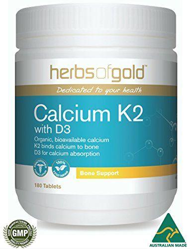 Calcium citrate, Magnesium, Vitamin K2