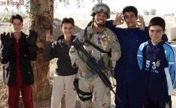 La tierna historia de amistad entre un soldado y un niño iraquí