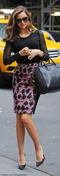 Street Style | Miranda Kerr LBV