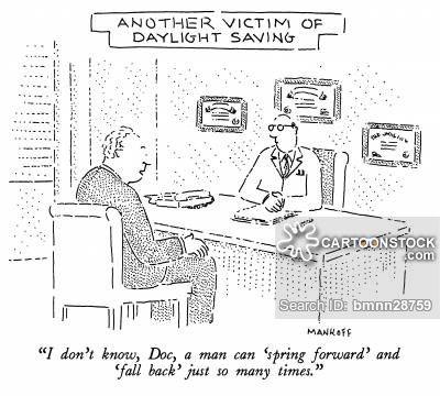 Daylight Savings Time --- Spring Forward & Fall Back