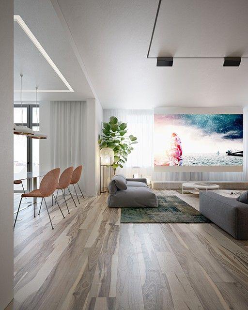 Фото — Minimal-techno — Дизайн квартир