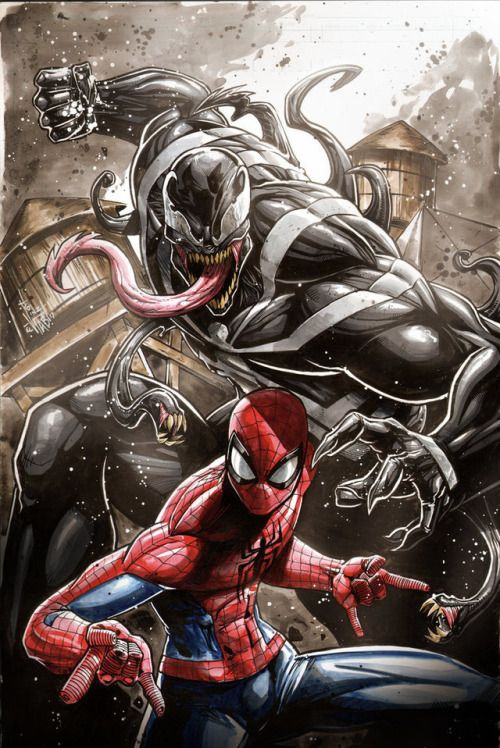 Spider-Man vs Venom - Vinz-el-Tabanas