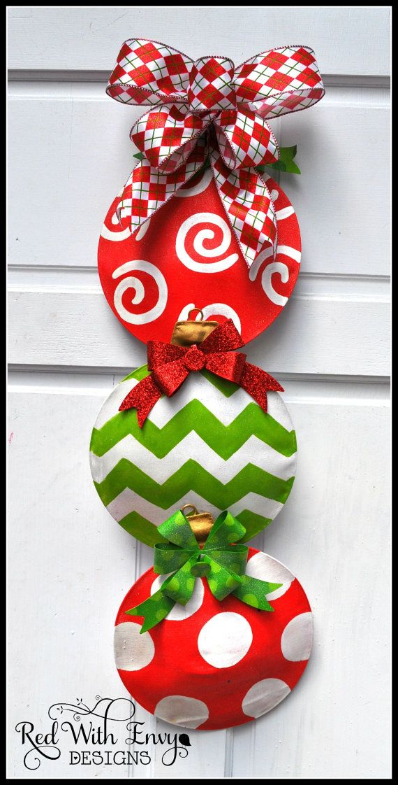 Whimsical Christmas Swag by RedWithEnvyDesigns on Etsy, $30.00