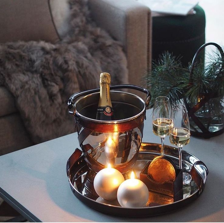 Saturday night essentials  Winston champagne cooler