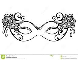 masquerade mask drawing - Google Search