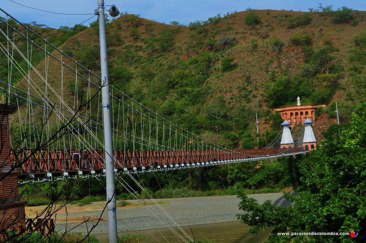Panorámica Puente de Occidente Santa Fe de Antioquia