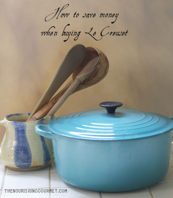 Never pay full price for Le Creuset as there are many options for how to save when purchasing!