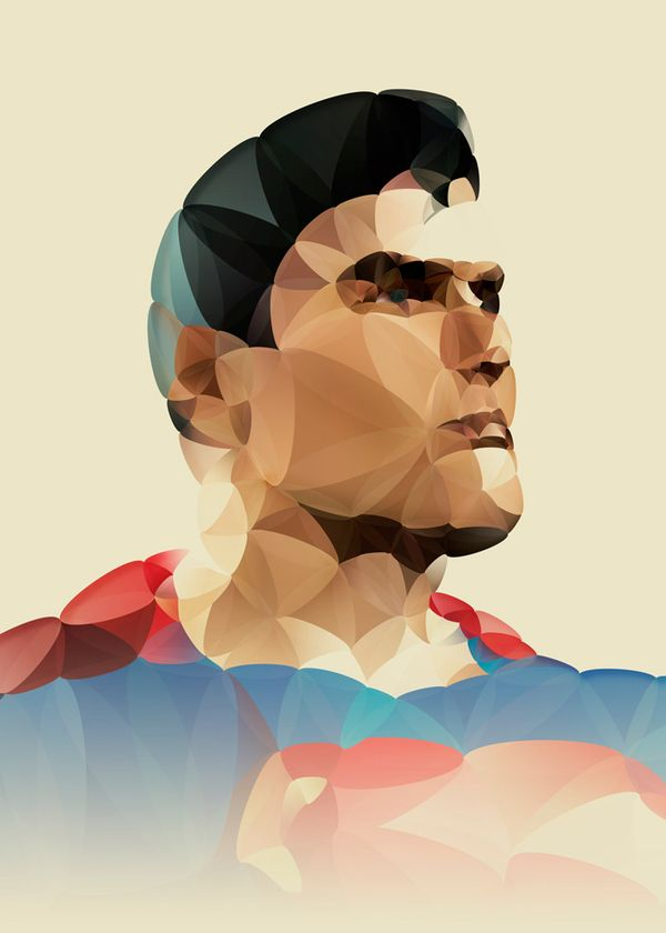 Superman by Nicola Felaco, via Behance