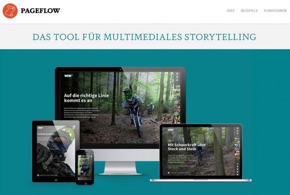 Pageflow will als Tool die Möglichkeit geben, Artikel im Stil des interactive Storytelling zu erstellen. (Screenshot: Pageflow)