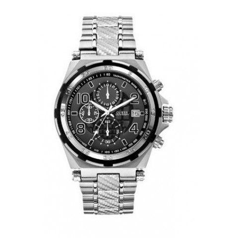 #Guess Silver Men's #Watch