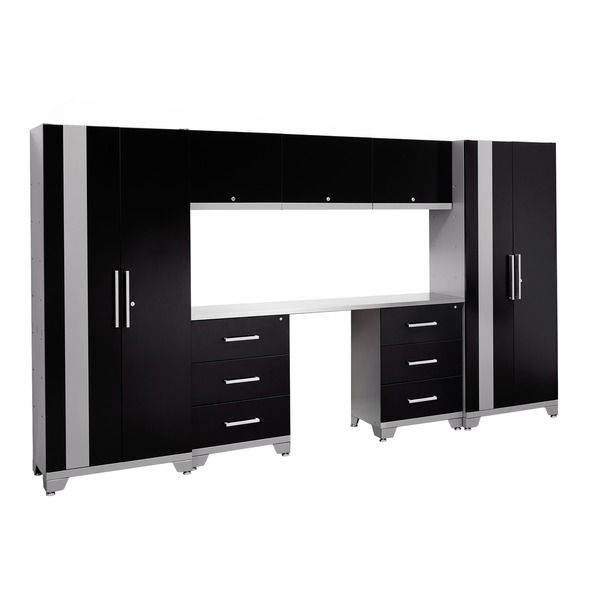 NewAge Products Performance Series 8-piece Cabinet Set ...