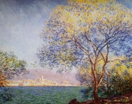 Antibes in the Morning ~ Claude Monet