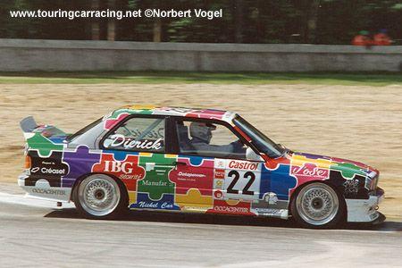 Robert Dierick, Ecurie Bruxelloise BMW M3 Sport Evo, (1993) Zolder 24h support race