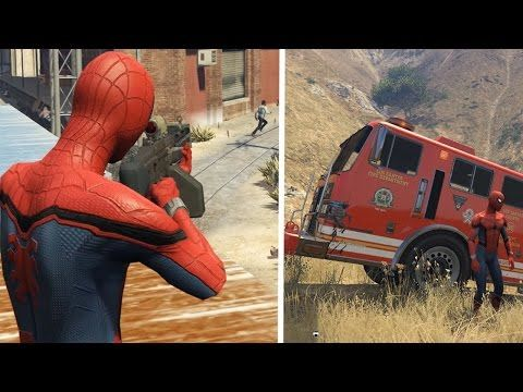 SpiderMan Crazy Shooting + Drive in Cartoon for Kids and Nursery Rhymes ...