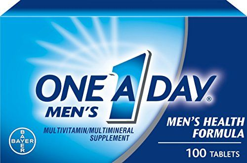 One-A-Day Men's Health Formula Dietary Supplement, 100-Count Bottles (Pack of 2)    $ 18.64 Vitamins  Dietary Supplements Product Features Men and women have different health concerns. That's why you want a complete multivitamin designed for you. One A Day Men's Health Formula is designed specifically for men with key nutrients to support heart health and more Vitamin D than Centrum Men Under 50 to support healthy […] https://www.dietingstore.com/one-a-day-mens-heal..