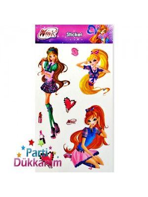 Winks Kızları Sticker (11*22 cm)
