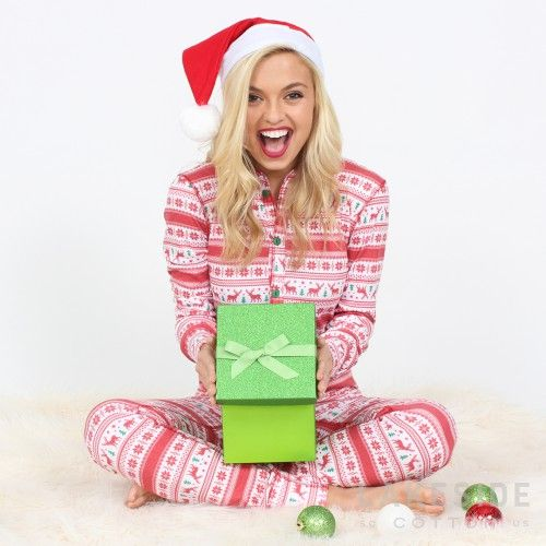 Bring in all the holiday cheer with a Holiday Lounge Suit from Lakeside Cotton!