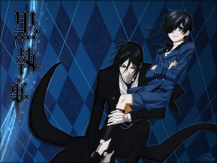 Black Butler Wallpaper - Black Butler Characters Wallpaper ... nobutty thigks of thet other buttler when thay thingk of black buttler.