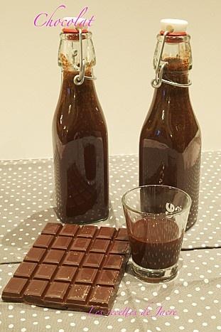 Liqueur de Chocolat pour panier gourmand