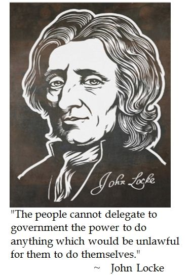 revolution and political liberty according to john locke Written by the philosopher john locke, the right to revolution formed an the right of revolution was also included in the all political power is.