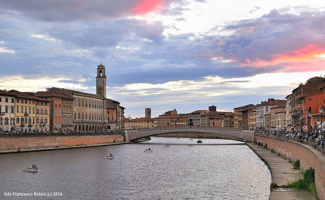 Regata - Palio di San Ranieri  Photo Credits: Francesco Batoni